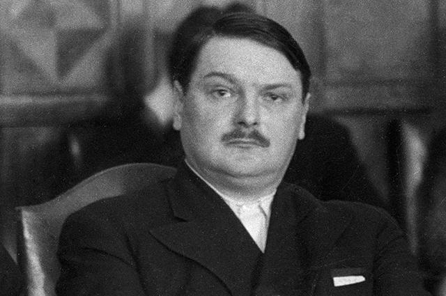 Андрей Жданов, 1937 год.