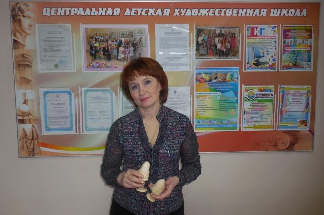 Маргарита Бологова - директор Центральной художественной школы Читы.