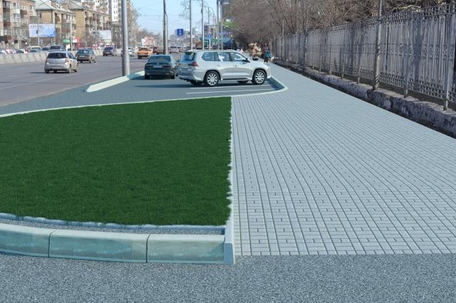 Вот так будет выглядеть парковка в будущем.
