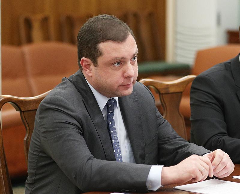 Губернатор Смоленской области Алексей Островский.