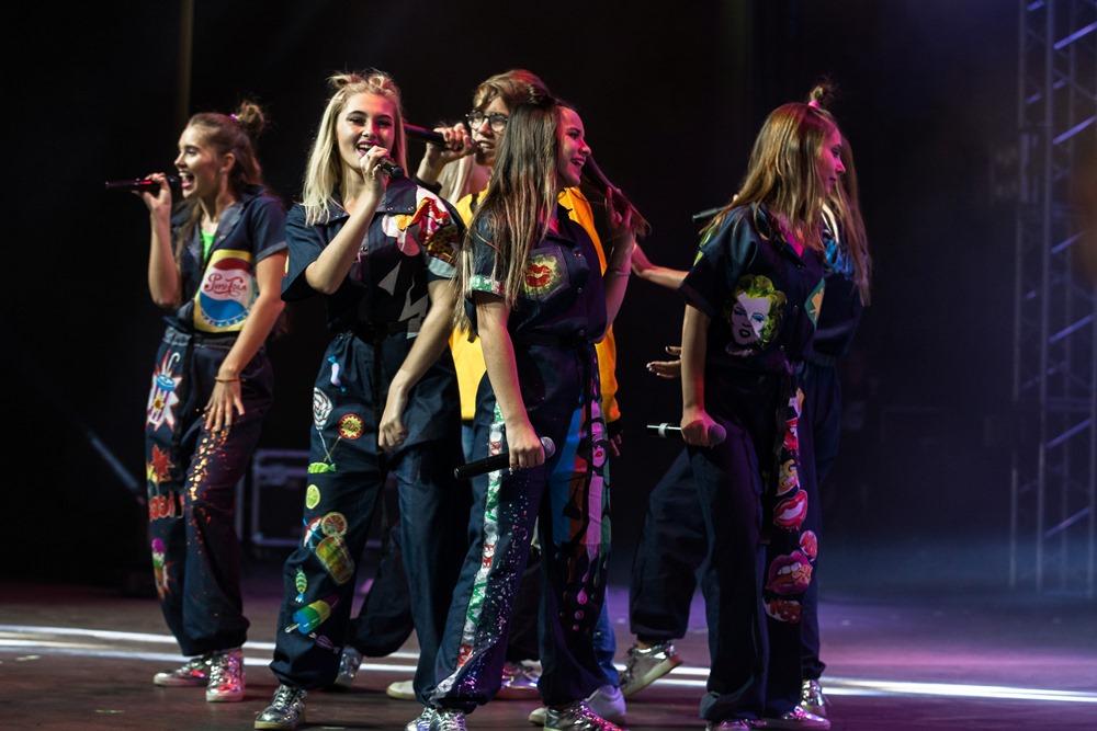 Участники концерта.