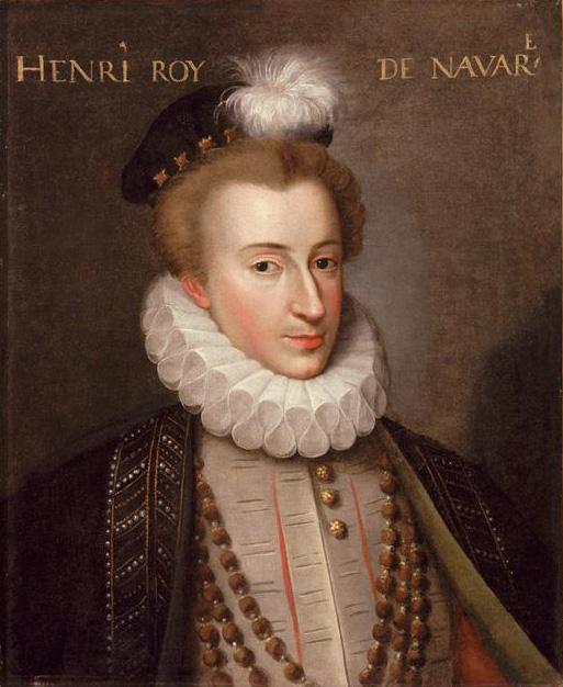 Король Наварры Генрих III.