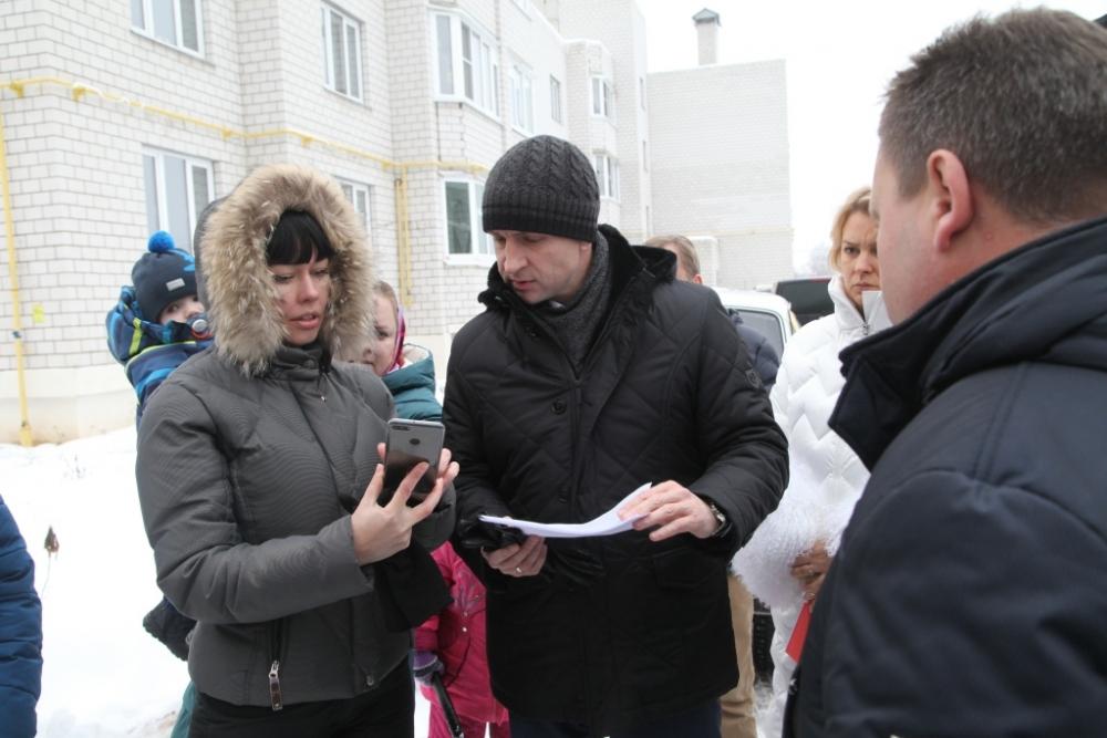 Жители домов обратились за помощью к городскому голове.