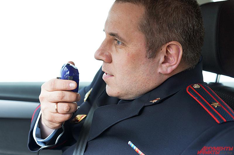Иван старший лейтенант, инспектор отделения пропаганды