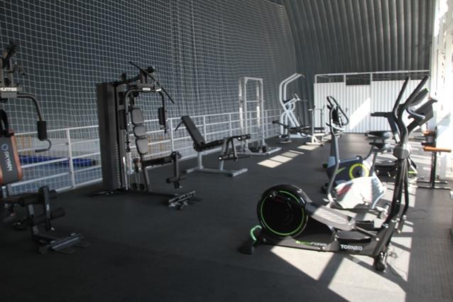 Спорт стал доступнее жителям села Дмитриевского и ближайших населённых пунктов.
