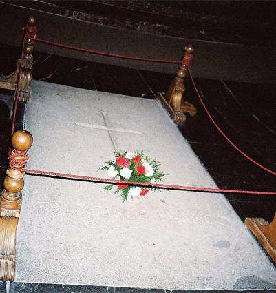 Могила Франсиско Франко.