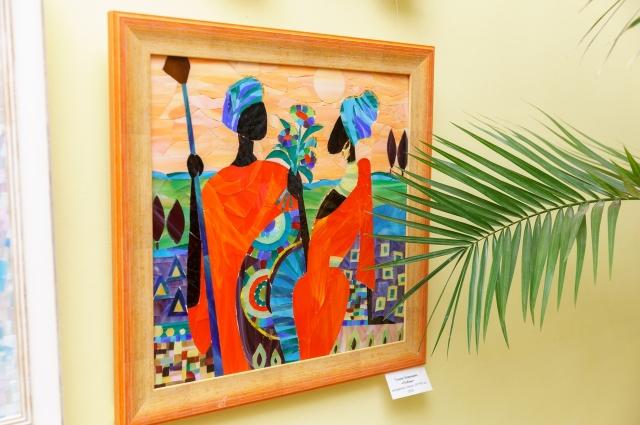 Выставка художественной мозаики