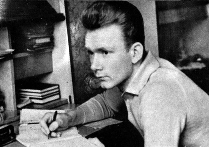 Валерий Лобановский в молодости.