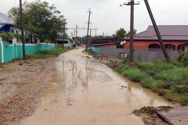 Паводок в Адыгее в 2014 году.