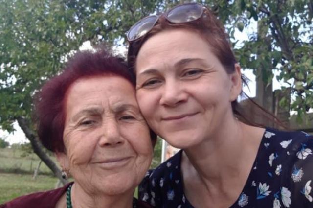 Зарема Беслангурова со своей мамой.