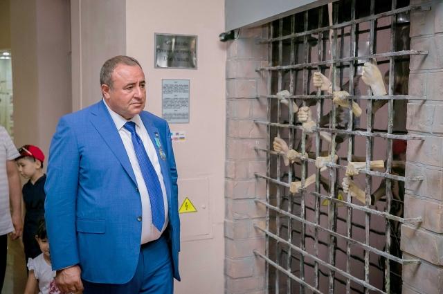 Делегация из Санкт-Петербурга посетила мемориальный комплекс АЛЖИР.