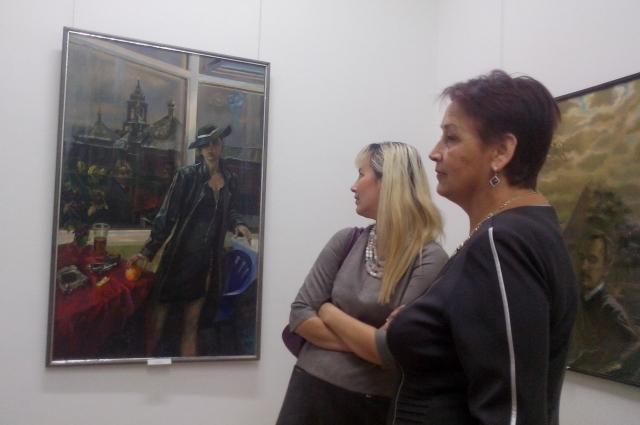 картина, гости выставки