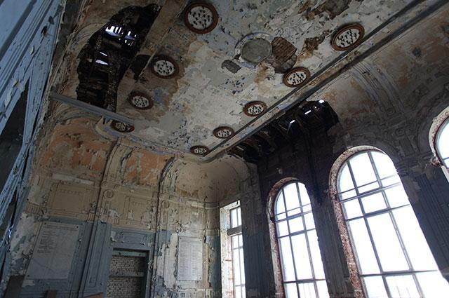 Просторные залы здания станут прекрасными мастерскими для художников.