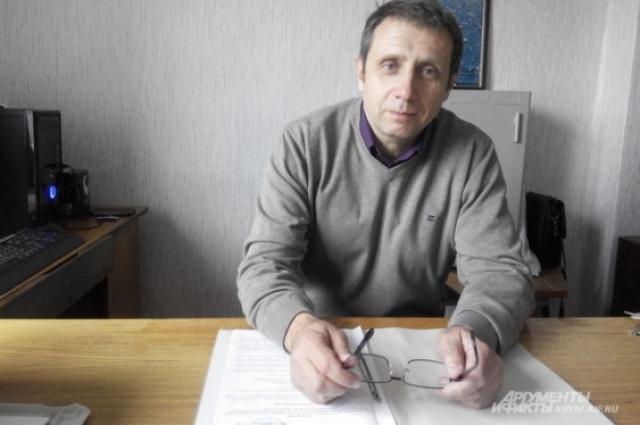 начальник метеостанции в Крыму Сергей Покидайло