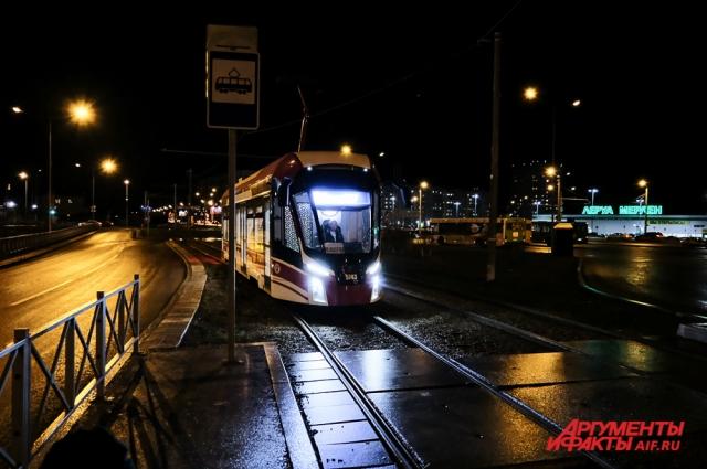 Новый трамвай будет следовать по маршруту «Школа 107 — Висим»