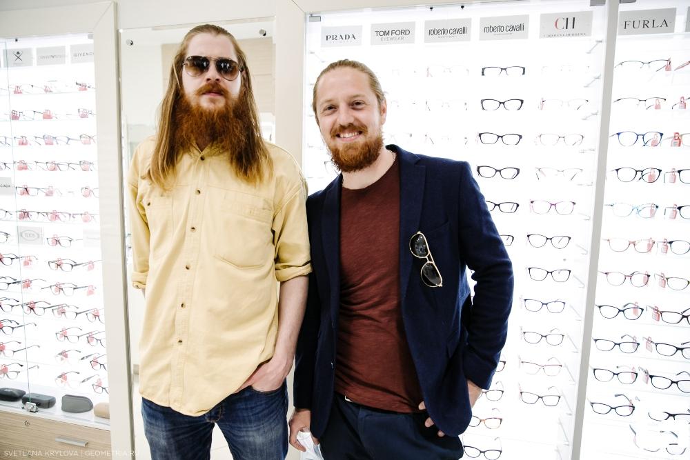 Основатели компании «Линзы даром» Андрей и Владимир Терёшины.