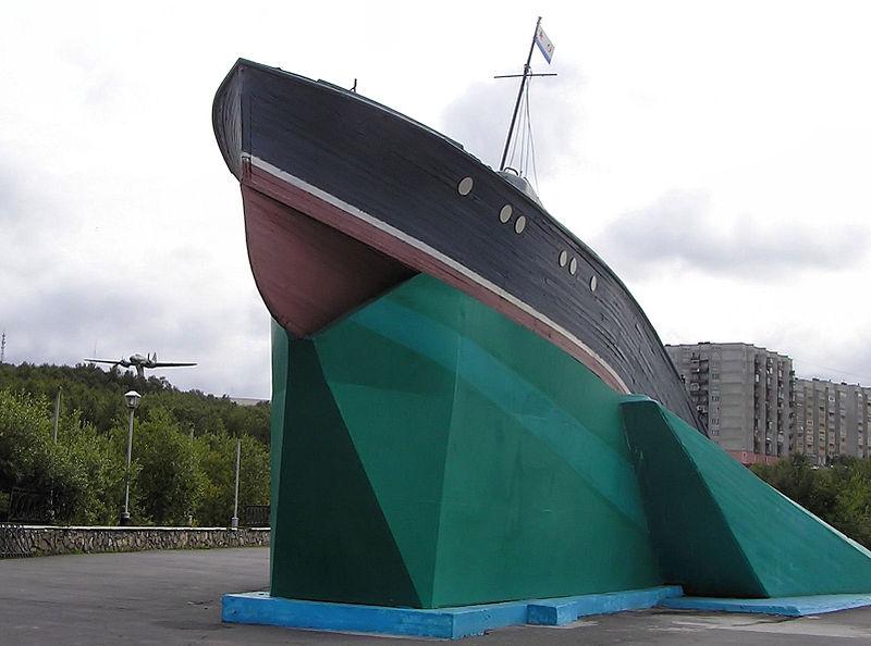 Памятник героям-морякам торпедных катеров Северного флота в Североморске