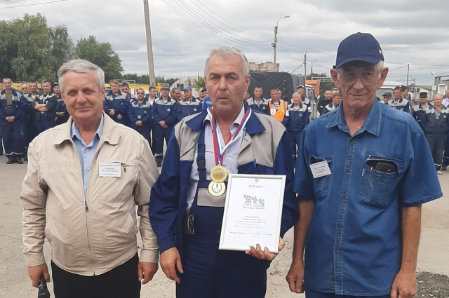 Александр Руди выиграл в номинации Лучший водитель
