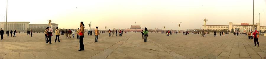 Площадь Тяньаньмэнь сегодня