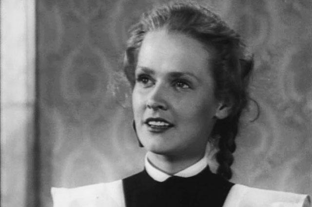 Нина Гребешкова в фильме «Честь товарища», 1953 г.