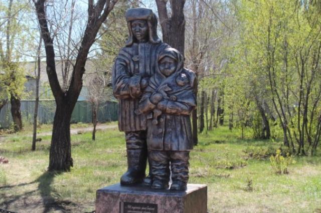 памятник блокадникам