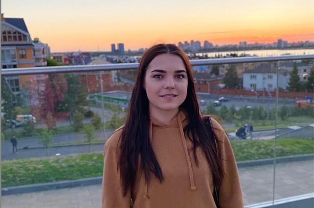 Дарья Манасова пошла на мост сделать фотографию на память.