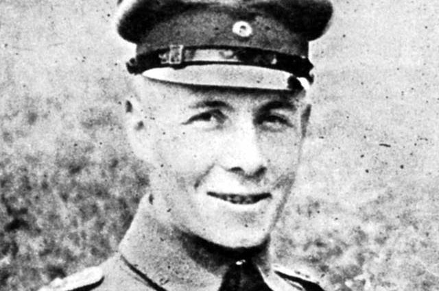 Эрвин Роммель, 1917 год
