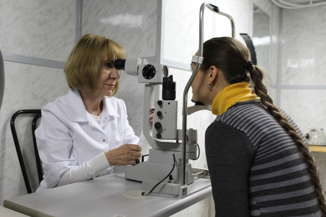 Прием ведет офтальмолог Людмила Пилипенко.