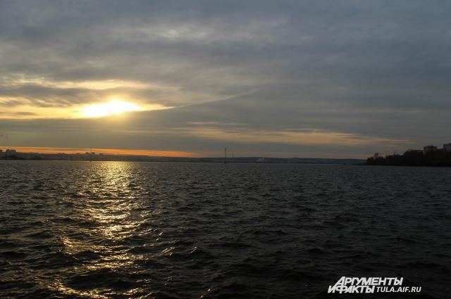 Ижевск. Озеро.