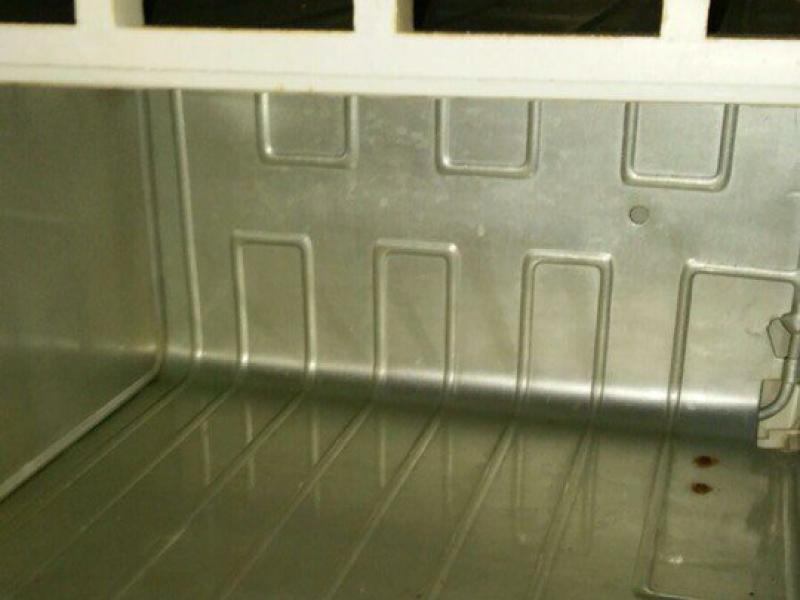 Так выглядел холодильник главы поселения на двадцатый день эксперимента.