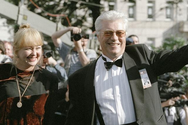 Евгений Жариков и Наталья Гвоздикова, 2000 год.