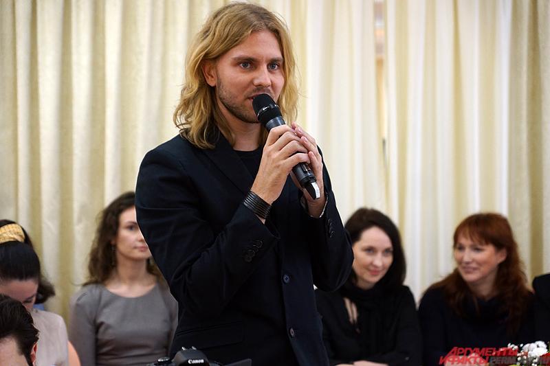 Специальный гость из Москвы, кастинг-директор конкурса Михаил Токарев.