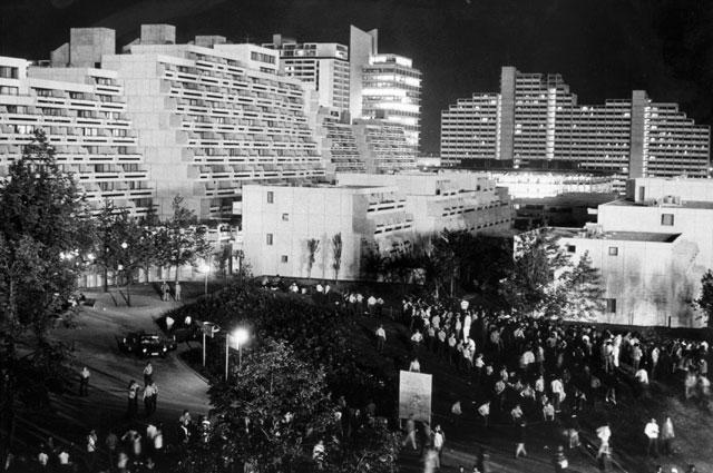 Олимпийская деревня на летних Играх в Мюнхене. 1972 год