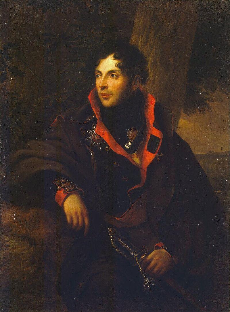Фридрих Георг Вайч. Портрет Н. М. Каменского. 1810 г.