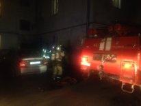 Пожар в жилом доме во Владимире