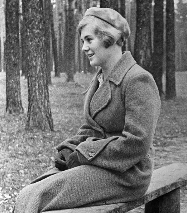 Вера Волошина, 1940 г.