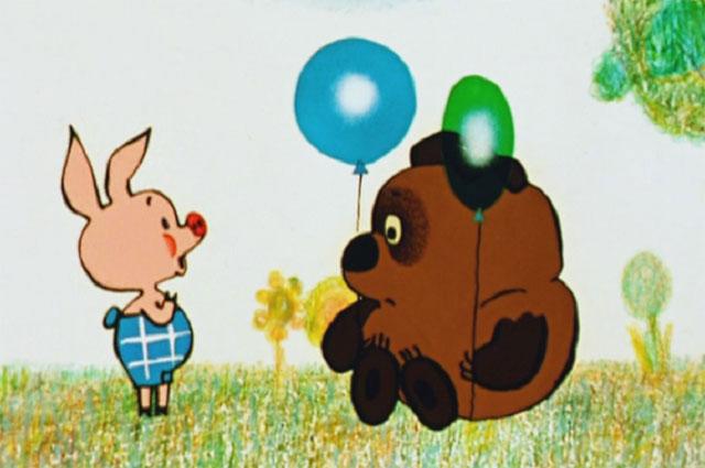 Кадр из мультфильма «Винни Пух».