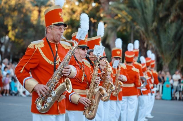 Омский духовой оркестр выступает и за границей.