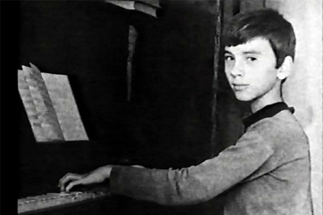 Дмитрий Хворостовский в детстве.