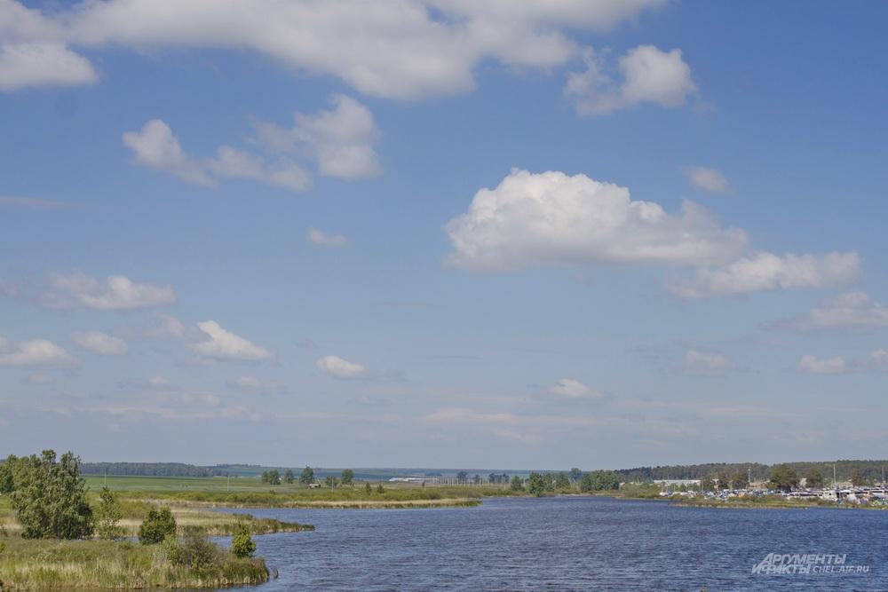 Бажовский фестиваль 2018 проходил в Пластовском районе на берегу реки.