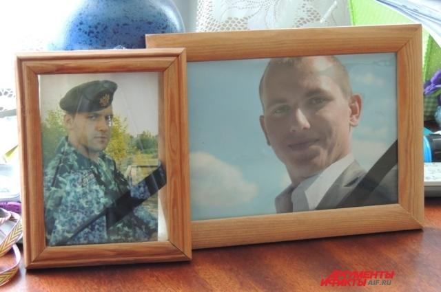 Погибшие Виктор и Василий Егоровы.