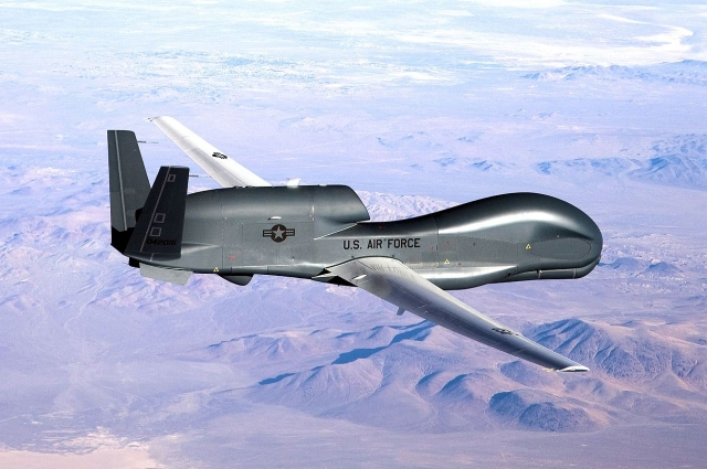 RQ-4B Global Hawk.