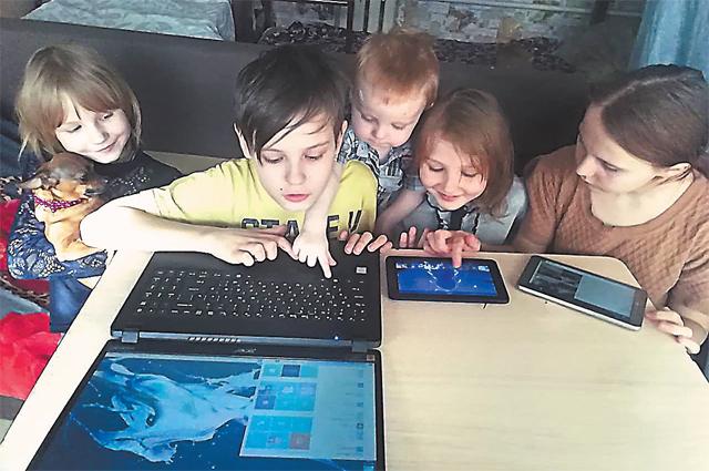 «Дети спать не могли, так ждали доставки планшетов… Будем учиться по-человечески!»