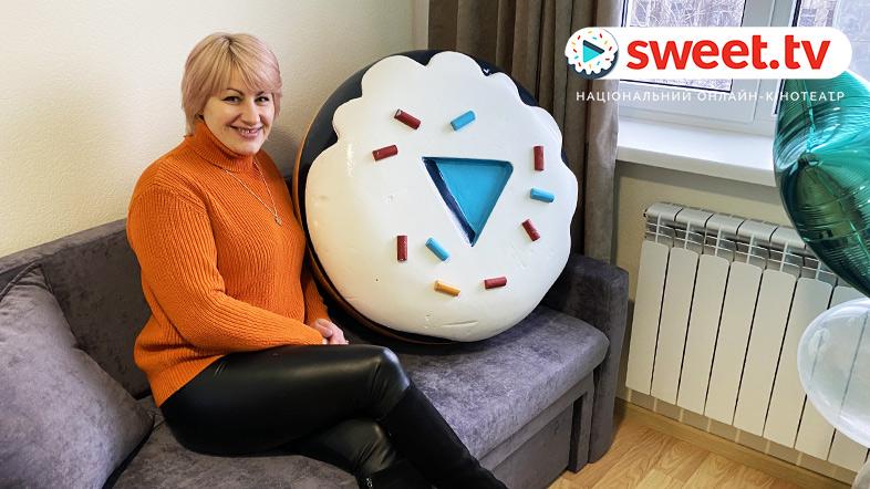 Валентина Лоран в своей новой квартире.
