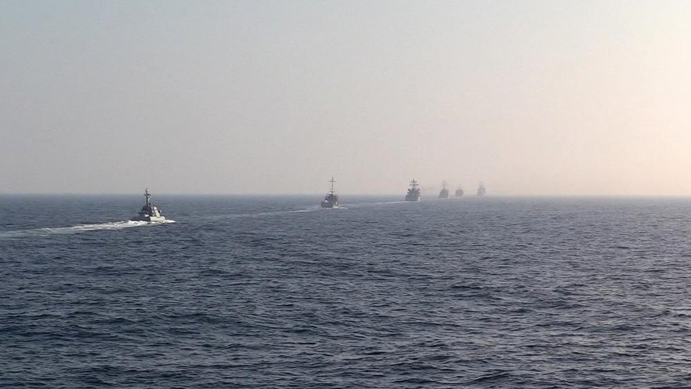 Совместные учения ВМС стран НАТО и ВМС Украины