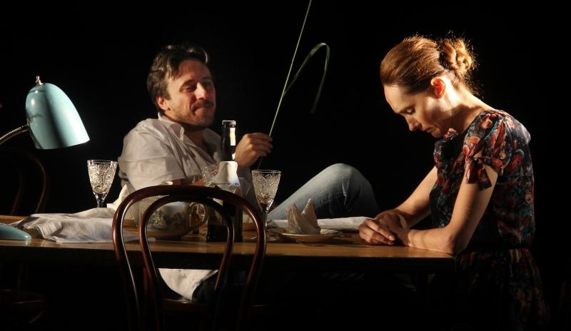 «Обрыв», Борис Райский (Максам Копылов) и его бабушка Татьяна Марковна (Анна Дулебова).