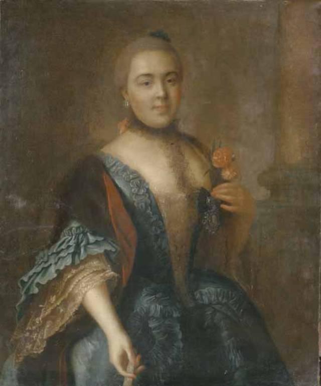 Елизавета Воронцова, портрет Алексея Антропова.