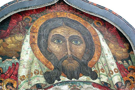 На флёновском отреставрирована мозаика Рериха.