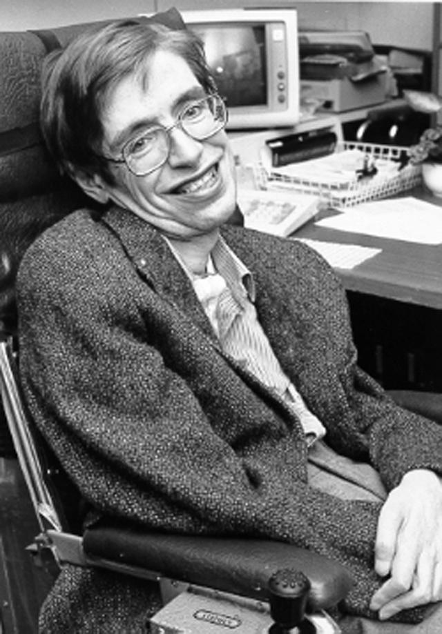 Стивен Хокинг. 1980 год.