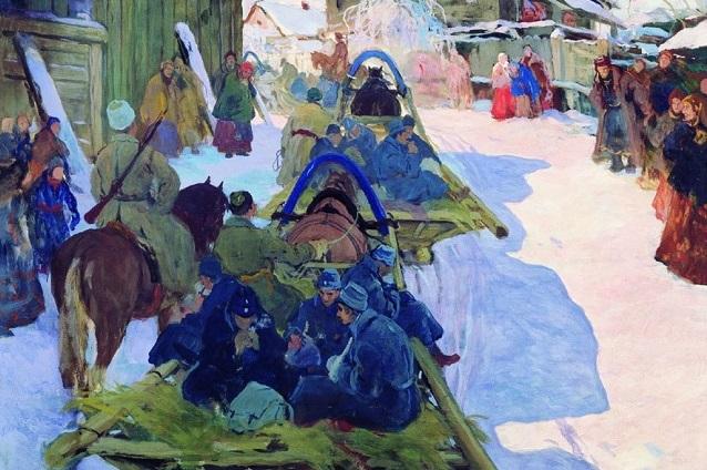 Иван Горюшкин-Сорокопудов делал фото для эскизов к картинам.
